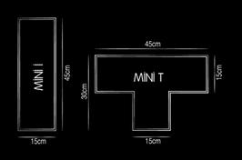 Elemento a giorno Tetris I | T