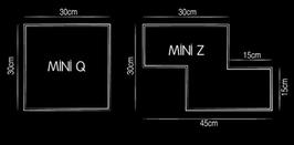 Elemento a giorno Tetris Q | Z