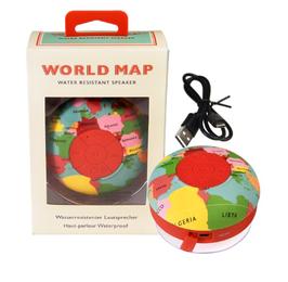 Altavoz de ducha bluetooth World Map