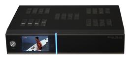 GigaBlue HD Quad Plus (schwarz) mit 3xDVB-S2 Tuner + DVB-C/T2 Tuner