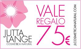 VALE DE REGALO 75€