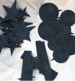 PIQUES EN ZINC LOT DE 2c lot de 2 - 1,5 x 9 cm & 2 x 11 cm