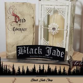 Aufnäher Black Jade gross