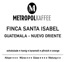 Finca Santa Isabel /  Guatemala Nuevo - Oriente