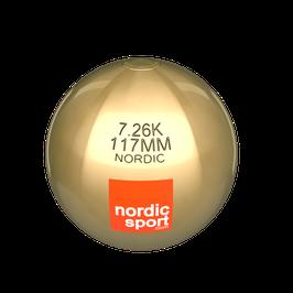 Nordic Kugelstoß Kugel aus Messing