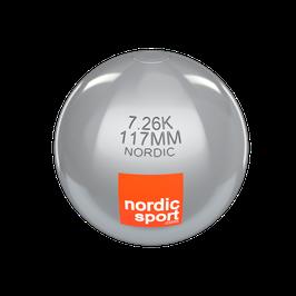Nordic Kugelstoß Kugel aus Edelstahl