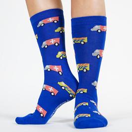 Sokken met medische print, ambulance sokken