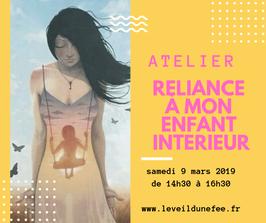 Réservation Atelier 09/03/19