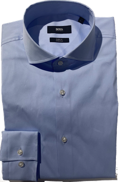 Hugo Boss shirt Bleu