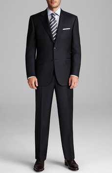 Canali Navy Suit
