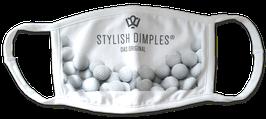 "STYLISH DIMPLES Maske ""Golfbälle"""