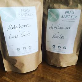 Frau Baecker Brotpaket 1 (insgesamt 4 Mischungen, 1kg)