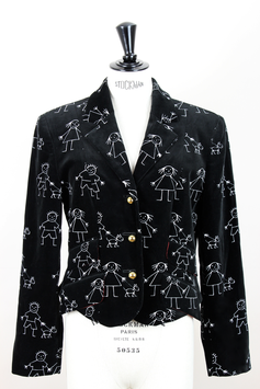"MOSCHINO ""Stick Man"" Jacket"
