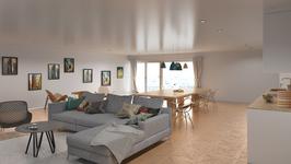 3SIGN Visualisierung Indoor Vol 3 - Wohnzimmer Küche