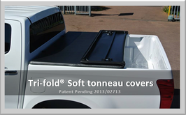 Tonneau KING - Tri-fold Soft