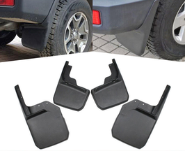 Jeep Wrangler Front & Rear Mud Flaps