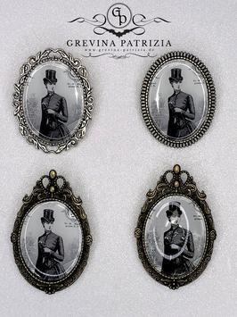Brosche Lady Anne viktorianisches Motiv