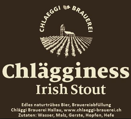 Chläggi Brauerei Rolf Gnädinger