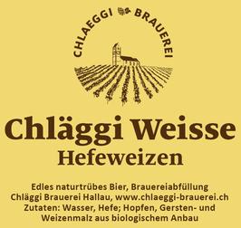 Chläggi Weisse, Hefeweizen, Chläggi Brauerei Rolf Gnädinger