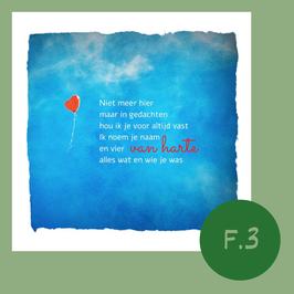 F3. van harte