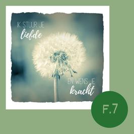 F7. Liefde en kracht