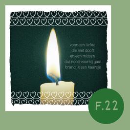 F22. voor een liefde die niet dooft