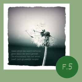 F5. geen strijd die werd verloren