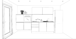 Composizione cucina LIBERA