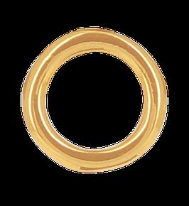 """Infinity Circle Post"" Ohrstecker vergoldet"