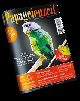 Papageienzeit 55 als Print oder e-Magazin