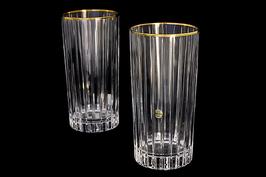 Набор хрустальных стаканов Same  ПИЗА ЗОЛОТО 400 мл