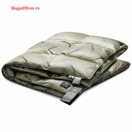 Всесезонное пуховое одеяло Kariguz Черная Жемчужина 150*200 см