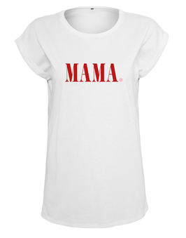 T-Shirt MAMA Rot von Whatelse