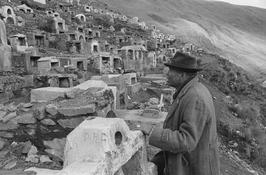 Christine Spengler. Bolivie, 1982. Cimetière de mineurs.