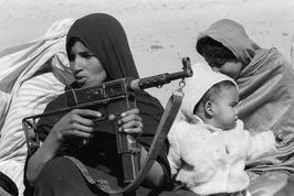 Christine Spengler. Sahara Occidental, 1976. L'entraînement des femmes.