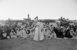 Christine Spengler. Sahara Occidental, 1976. Victoire de Mahbès.
