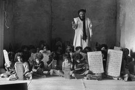 Christine Spengler. Sahara Occidental, 1976. L'école coranique.