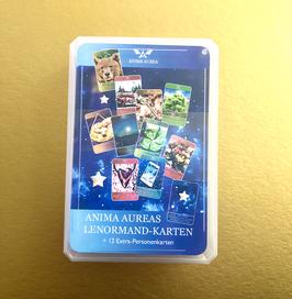 Anima Aurea's energetisches Lenormand mit 16 Zusatzkarten