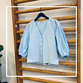 Mbym Brandee Shirt Chambray Blue