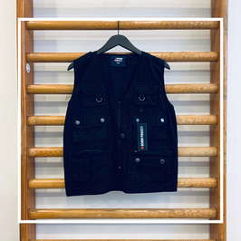 Denim Project Vest Black