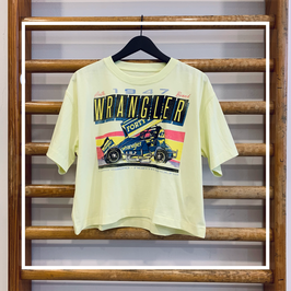 Wrangler Boxy Tee Wax Yellow