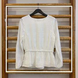 Mbym Mina Shirt White