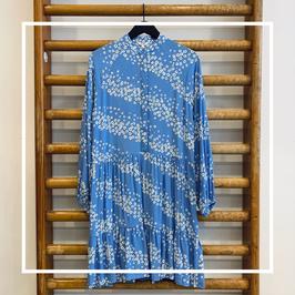 Mbym Marranie Dress Sereia Blue Print