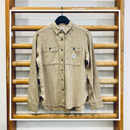 Lee Worker Shirt Bleached Sand