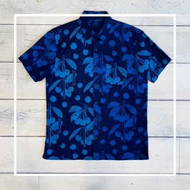 Edwin Indigo Flower Shirt SS