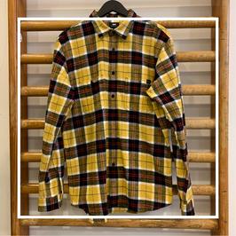 Edwin Labour Shirt LS Yellow/Black