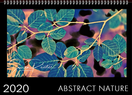 WANDKALENDER: ABSTRACT NATURE 2020