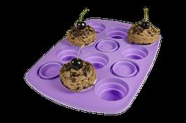Faltbare Muffinform, Flieder