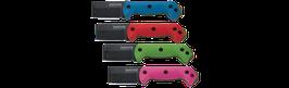 Becker Color Zytel Handle Scales / Blue - Red - Green -  Hot Pink - Black