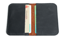 Kreditcard Wallet Buffalo Oiled Leather brown
